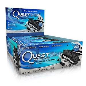 Quest Bar - Caixa com 12 unidades - FRETE GRATIS