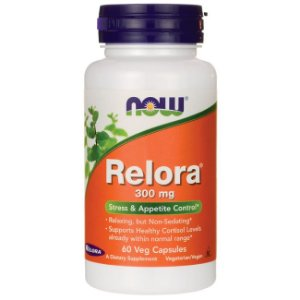 Relora 300mg NOW - 60 veg caps