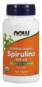 Spirulina 500mg NOW - 200 tablets