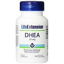 DHEA  25mg  Life Extension - 100 caps