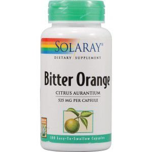 Bitter Orange 525mg - Solaray - 100 cápsulas