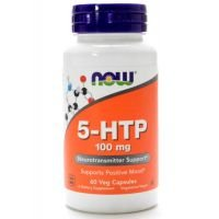 5 HTP 100mg - NOW - 60 Veg Capsules
