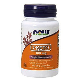 7 Keto 100mg NOW - 60 Veg Capsules