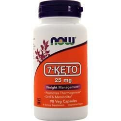 7 Keto 25mg NOW - 90 Veg Capsules