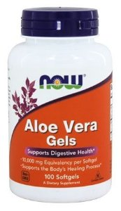 Aloe Vera Gels 10.000mg - NOW - 100 Softgels