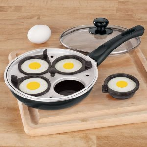Panela com Egg Poacher