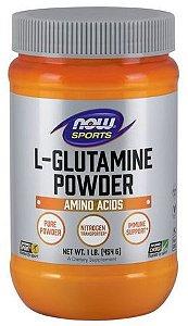 Glutamina em Pó NOW Sports 454g