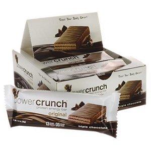 Power Crunch Barrinhas de Proteina - Caixa com 12 unidades - FRETE GRATIS
