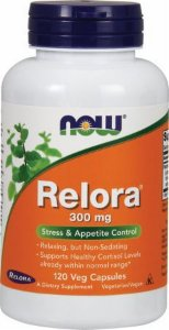 Relora 300 mg - 120 Veg Caps - NOW