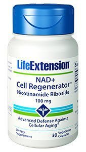 NAD Cell Regenerator 100mg Life Extension - 30 caps