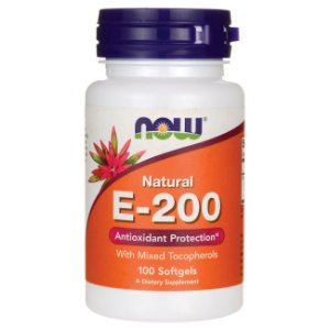 E 200 UI   NOW 100 Softgels