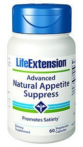 Advanced Natural Appetite Suppress -Life Extension - 60 Vegcaps