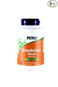 Dandelion Root NOW 500 mg 100 Veg Caps