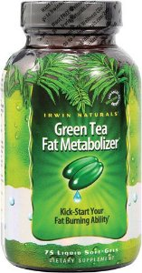 Irwin Naturals Green Tea Fat Metabolizer - 75 liquid Soft  Gels