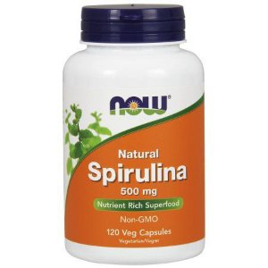 Spirulina 500mg NOW 120 VCAPS