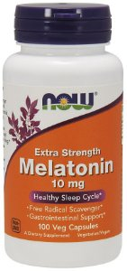 Melatonina 10mg NOW - 100 caps