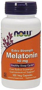 Melatonina 10mg NOW - 100 caps