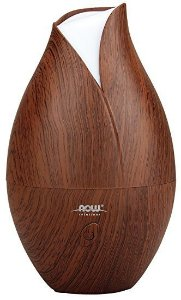 Difusor Now Ultrasonic Faux Wood Essential Oil
