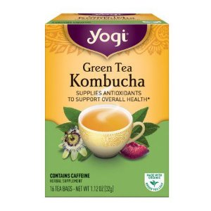 Yogi Green Tea Kombucha Tea 16 unidades