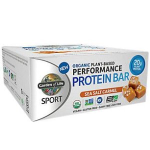 SPORT ORGANIC PERFORM PROTEIN -SEA SALT CARAMEL 12 barrinhas