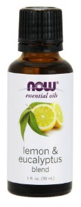 Óleo Essencial Blend  - Lemon e Eucalyptus - NOW  30 Ml