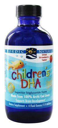 Children's DHA Nordic Naturals 4oz - Líquido
