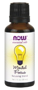 Óleo Essencial NOW  -  Mental Focus 1oz