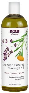 Óleo de Lavanda de Amendoas NOW - 473ml
