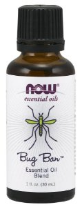 Óleo Essencial NOW - Bug Ban 30ml - Espanta Mosquitos