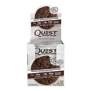 Quest Protein Cookies - Caixa com 12 Unidades - Frete Gratis