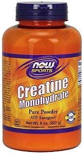 Creatina Monohydrate em Pó NOW - 227g