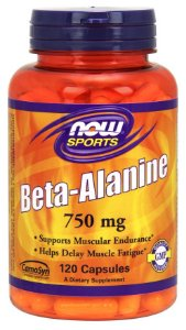 Beta Alanina NOW 750mg 120 caps