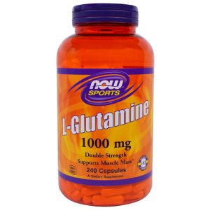 Glutamina NOW 1,000mg 240 Capsulas