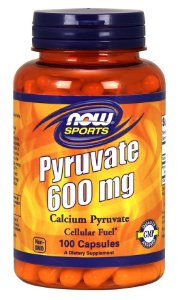 Pyruvate 600mg NOW 100 caps
