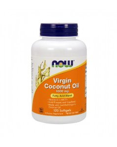Virgin Coconut Oil 1000 mg   NOW  120 Softgels