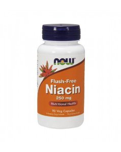 Flush-Free Niacin 250 mg  NOW  90 Veg Capsules