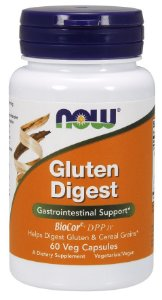 Gluten Digest NOW 60 Veg  Capsules