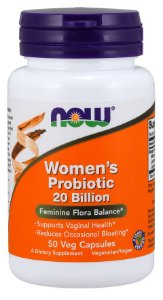 Women's Probiotic 20 Billion  NOW 50 Veg Capsules
