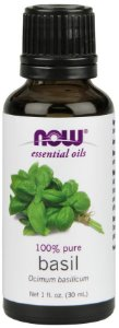 Óleo Essencial Basil 100 % Puro NOW 30 ml