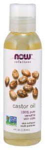 Óleo Castor  NOW  4 fl oz (118 ml)
