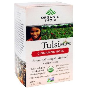 Chá de Tulsi Canela Rosa - 18 Saquinhos