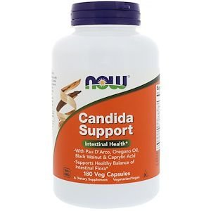 Candida Support  NOW 180 Veg Capsules