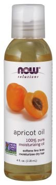 Óleo de semente de damasco NOW 118 ml