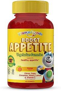 Vitamina Friends Boost Appetite Vegetarian  60 gummies - vencimento : 7/20