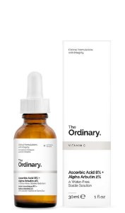 Ascorbic Acid 8% + Alpha Arbutin 2%   The Ordinary 30ml