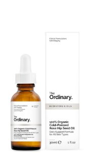 100% Organic Cold-Pressed Rose Hip Seed Oil - Óleo Rose Hip Seed Prensado a Frio The Ordinary 30ml