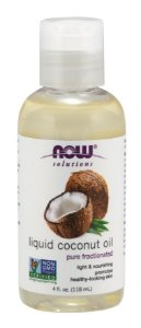 Óleo  de Coco  liquido NOW 118 ml