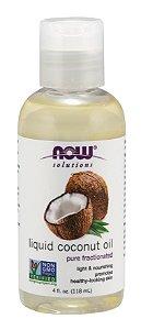 Óleo  de Coco  liquido NOW 118 ml