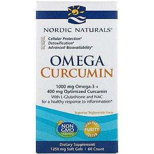 Omega Memory Curcumin Nordic Naturals 60 count