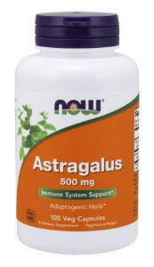 Astragalus 500 mg  now 100Veg Capsules